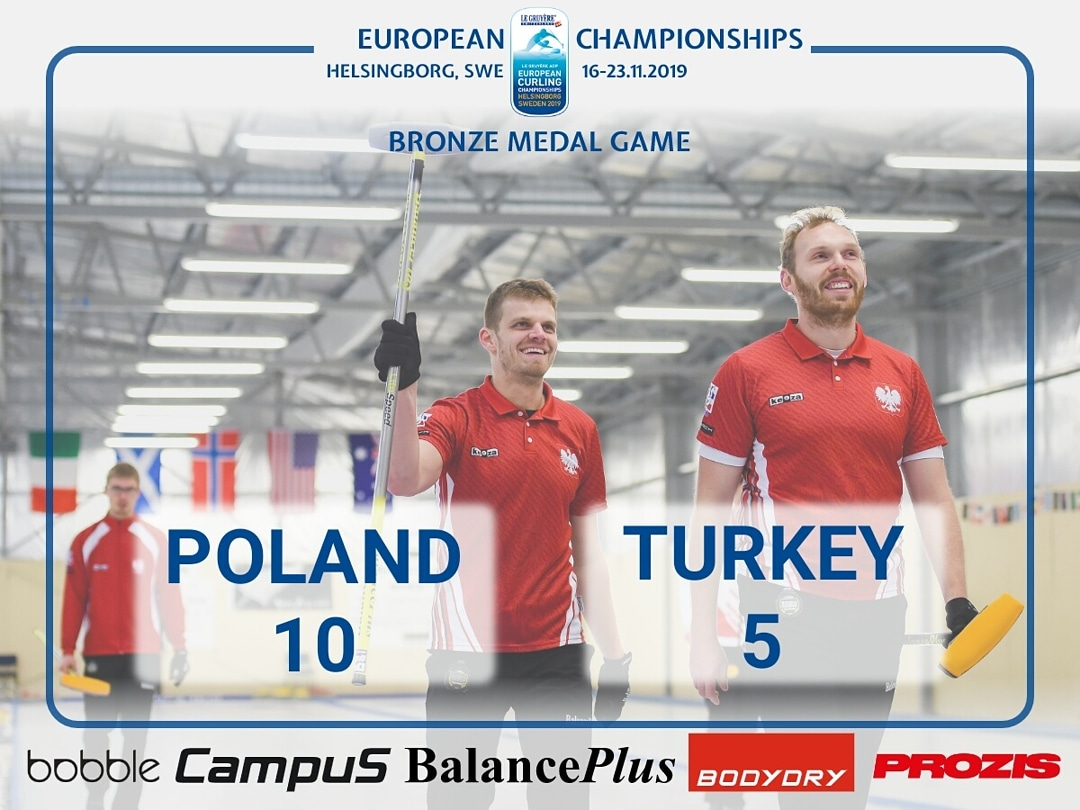 Bronze at Europeans Championships 2019- B division