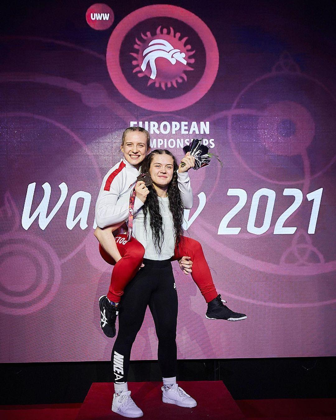 Ola z brązowym medalem Mistrzostw EUROPY Seniorek w Warszawie